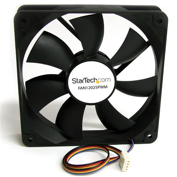 Main Components Of A Fan : Mm computer case fan with pulse width modulation