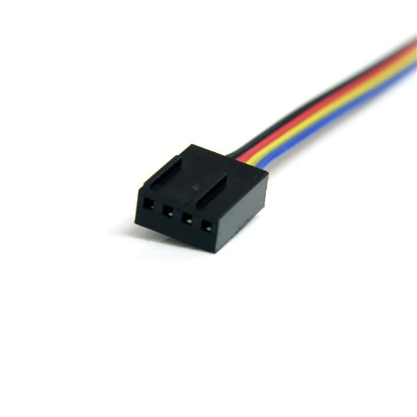 4 Pin Fan Power Extension Cable 1ft Startech Com