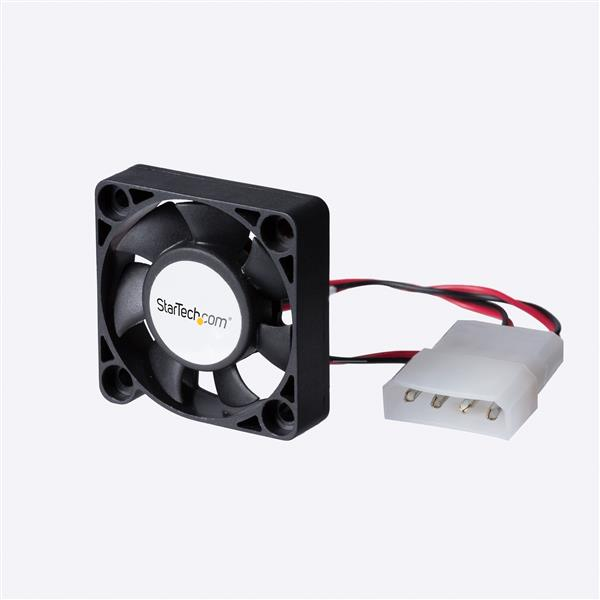 Large Image for 40x10mm Replacement Dual Ball Bearing Computer Case Fan w/ LP4
