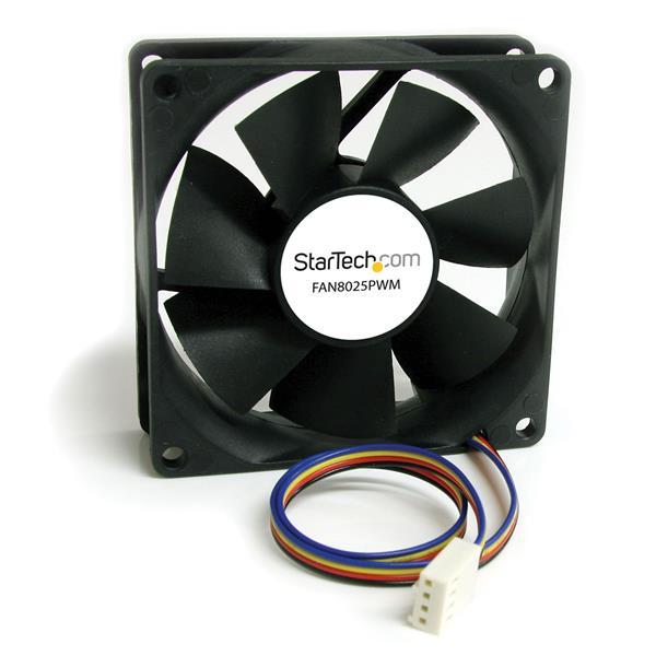 Ventilateur Pc 80 X 25 Mm Avec Connecteur A Modulation D
