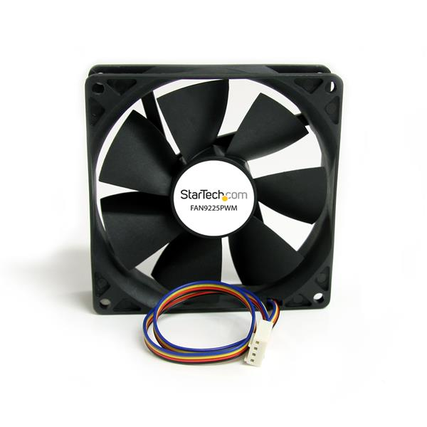 Large Image for 92x25mm Computer Case Fan with PWM – Pulse Width Modulation Connector