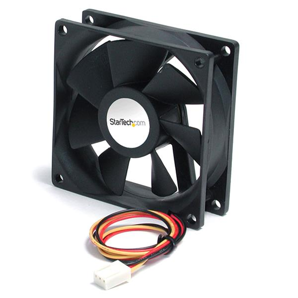 Large Image for 90x25mm High Air Flow Dual Ball Bearing Computer Case Fan w/ TX3