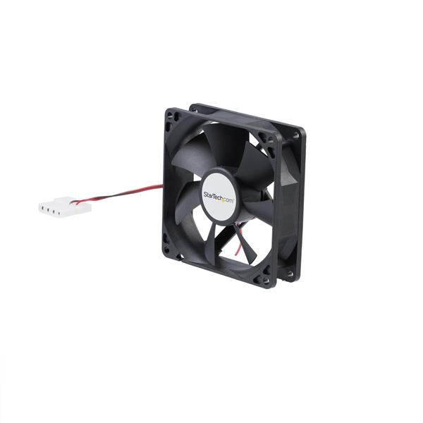 Large Image for 92x25mm Dual Ball Bearing Computer Case Fan w/ LP4 Connector