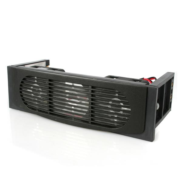 Large Image for 5.25in Front Bay Mount Dual Fan Hard Drive Cooler
