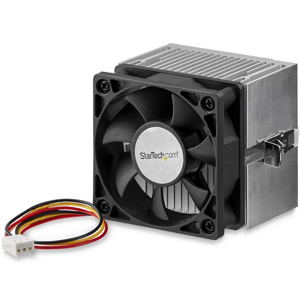 d2e586bfb09 Thumbnail 1 for 60x65mm Socket A CPU Cooler Fan with Heatsink for AMD Duron  or Athlon