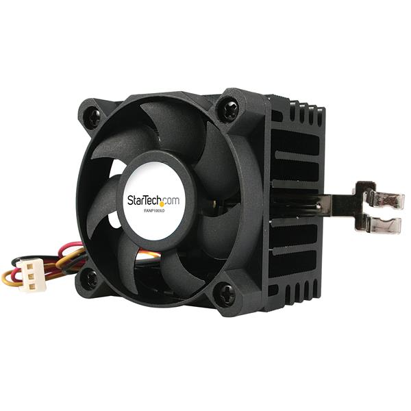 Large Image for 50x50x41mm Socket 7/370 CPU Cooler Fan w/ Heatsink and TX3 and LP4