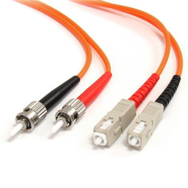 1m Multimode Fiber Patch Cable St Sc Sc Fiber Cables