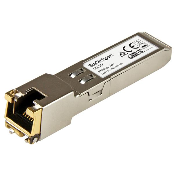Large Image for Cisco GLC-T Compatible SFP Transceiver Module - 1000BASE-T