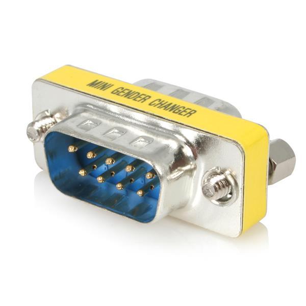 Db9 Gender Changer Slimline Serial Converts Db9f To