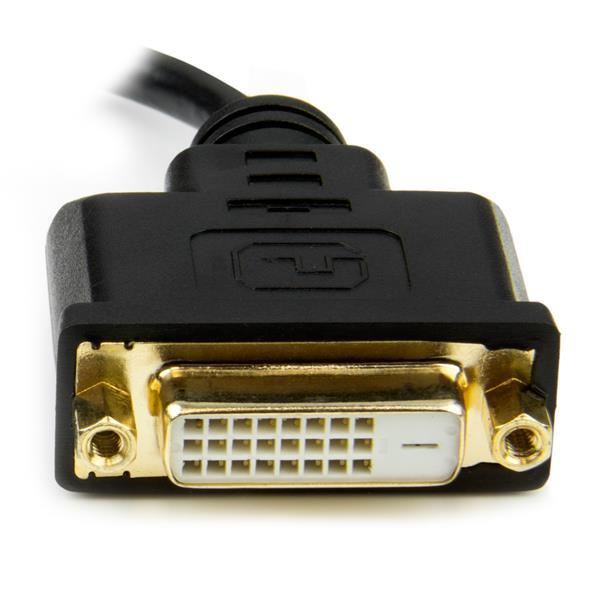 8in Hdmi Mini To Dvi Adapter M F Startech Com Italy