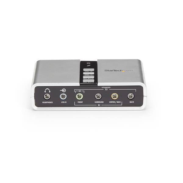 7 1 USB Audio Adapter External Sound Card with SPDIF Digital Audio