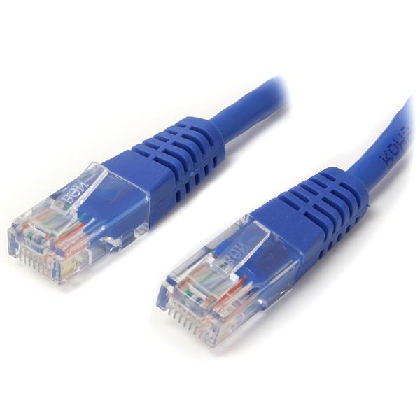StarTech 20 ft Blue Snagless Cat5e UTP Patch Cable RJ45PATCH20