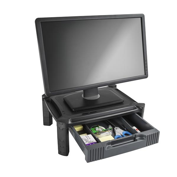 drawers is image with startech height riser loading drawer monitor adjustable s large monstadjdl itm