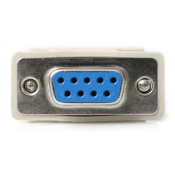 Null Modem Adapter 2x Db9 Female Startech Com