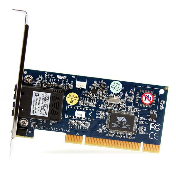 PCI Fiber NIC Card - Fiber to the Desk | StarTech.com