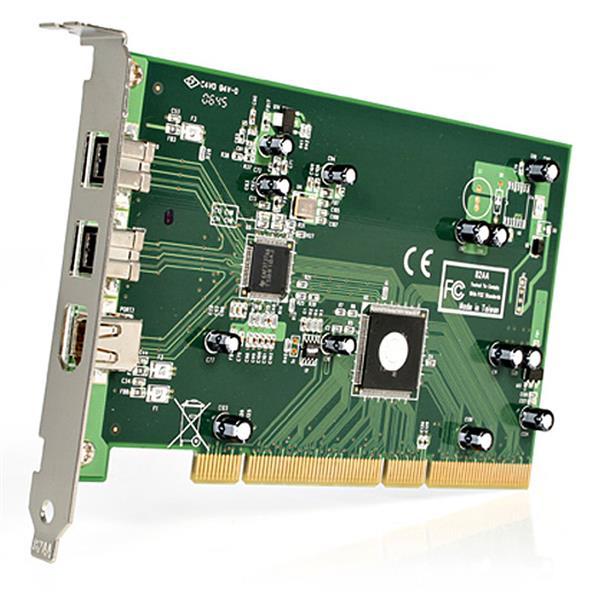 StarTech PCI1394B_3 Download Drivers