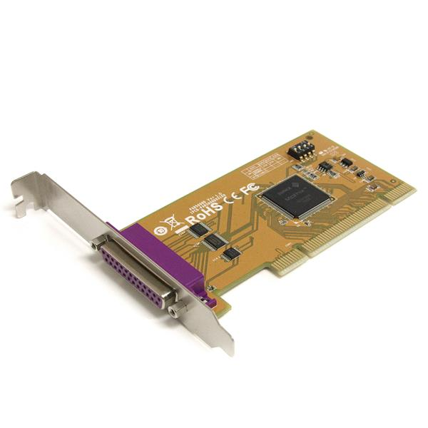 Large Image for 1 Port PCI Parallel Adapter Card with Re-mappable Address