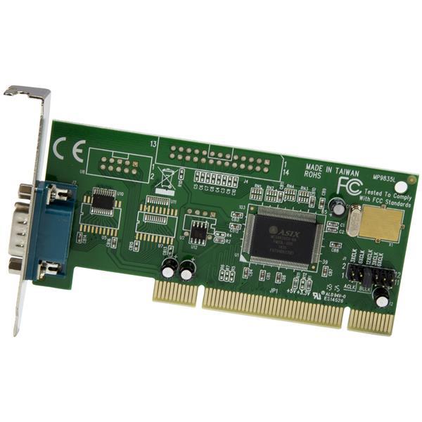 1 Port LP PCI Serial Adapter Card | PCI Serial Cards | StarTech com