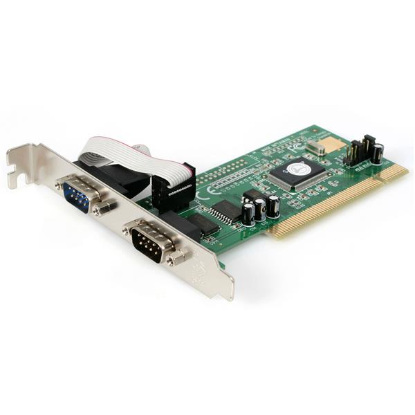 Thumbnail 1 For 2 Port PCI RS232 Serial Adapter Card With 16550 UART