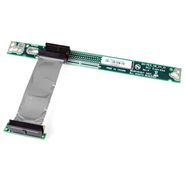 Stor bild för PCI Express Riser Card x1 Left Slot Adapter 1U with Flexible Cable