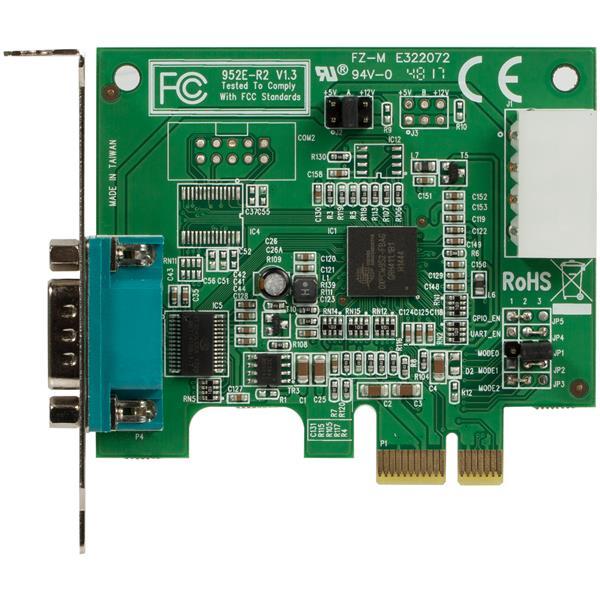 PCI Express Serial Card - 1 Port, 950 UART | Half Height ...