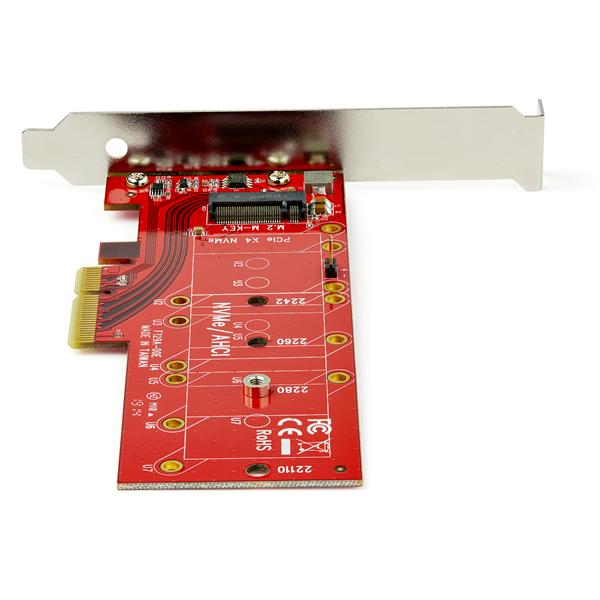 x4 PCI Express to M 2 PCIe SSD Adapter