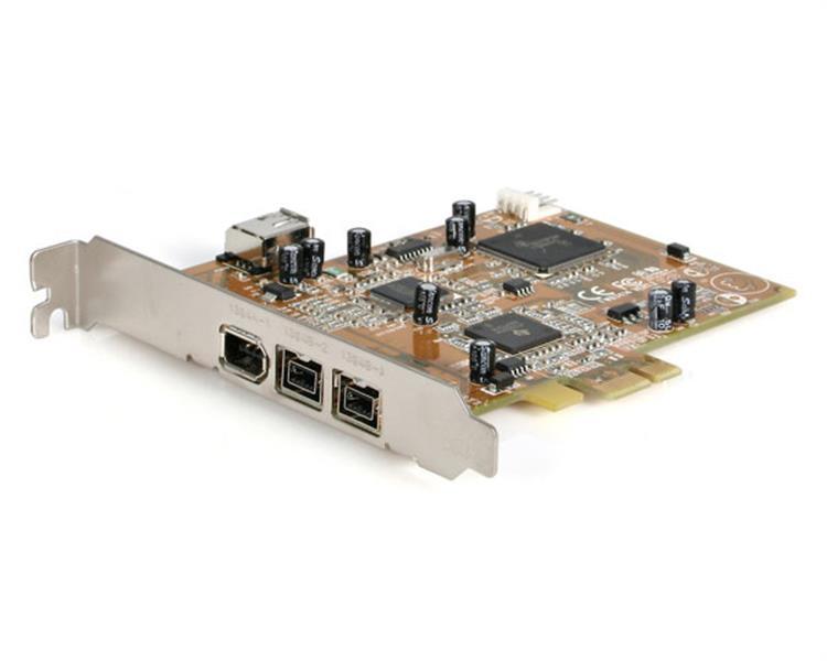 2 Port PCI Express 1394b FireWire 800 & 1 Port + 1 Internal ...