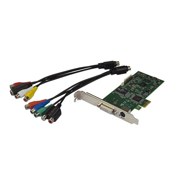 PCIe HDMI Video Capture Card - HDMI, VGA, DVI, or Component Video at 1080p60