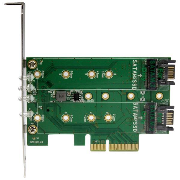 pcie  ssd ngff adapterkarte sata karten startech