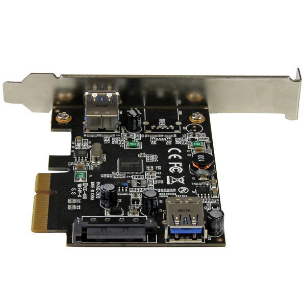 2 port usb 3 1 10gbps card 1x internal 1x external for Porte 1 3 2 3