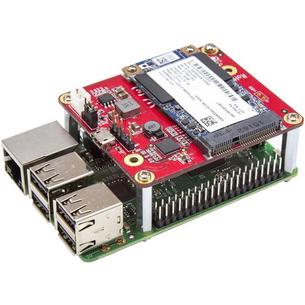 USB to mSATA Converter for Raspberry Pi and Development Boards