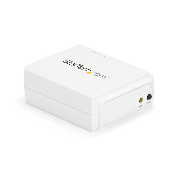 StarTech PM1115UW 1 Port USB Wireless Network Print Server with 10//100 Mbps Ethernet Port