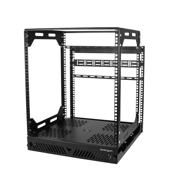 Large Image for 12U Slide-Out Server Rack - Rotating - 4-Post Rack