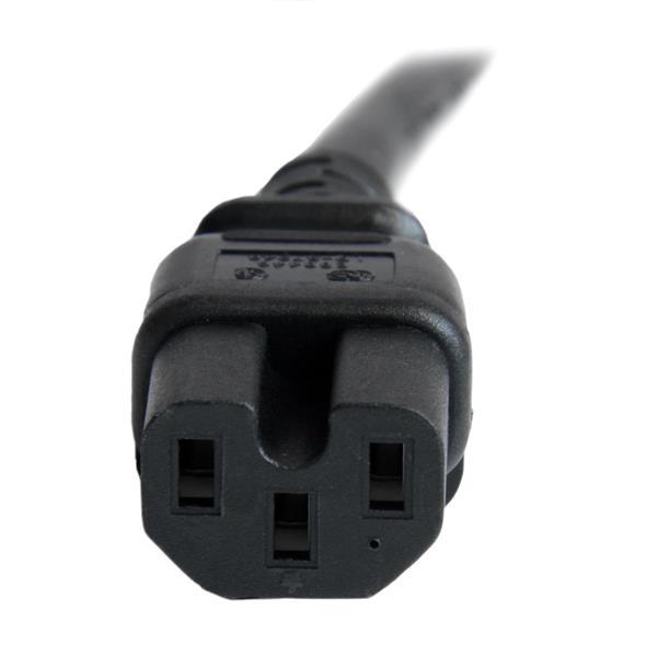 C14 To C15 Power Cord 250v 15a 14 Awg Startech Com