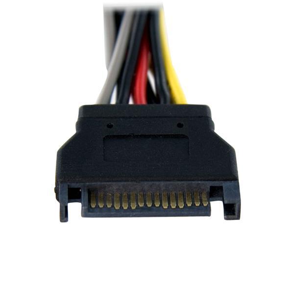 SATA Power Splitter Cable - 6in | StarTech.com