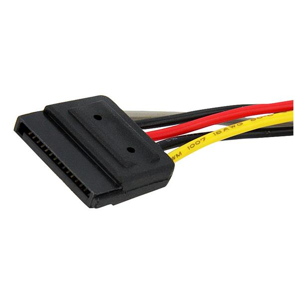 Sata Power Splitter Cable 6in Startech Com