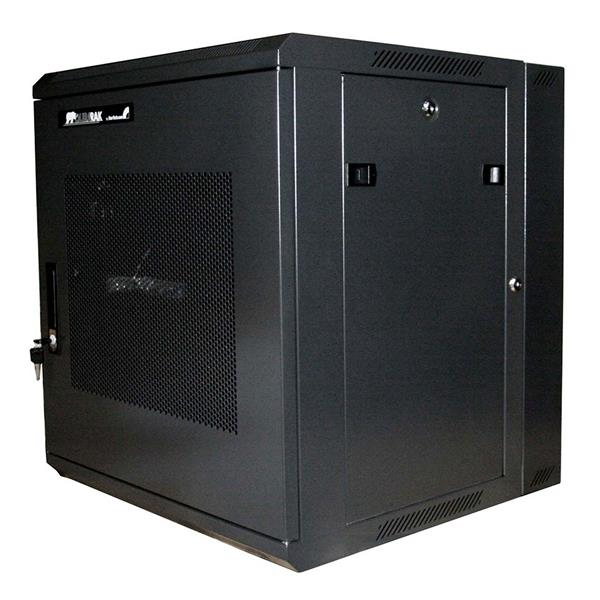 Server Rack Cabinet 12u 19in Hinged Wall Mount Server