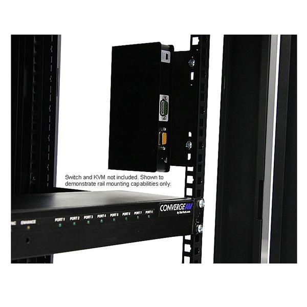 Thumbnail 4 for 12U 19in Hinged Wall Mount Server Rack Cabinet w/ Steel  Mesh Door - Server Rack Cabinet - 12U 19in Hinged Wall Mount Server Rack
