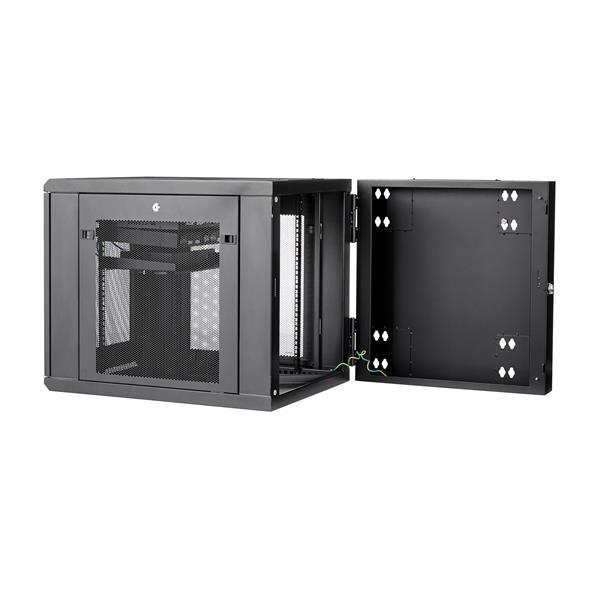 12u Wall Mount Server Rack Cabinet 24 In Deep Hinged