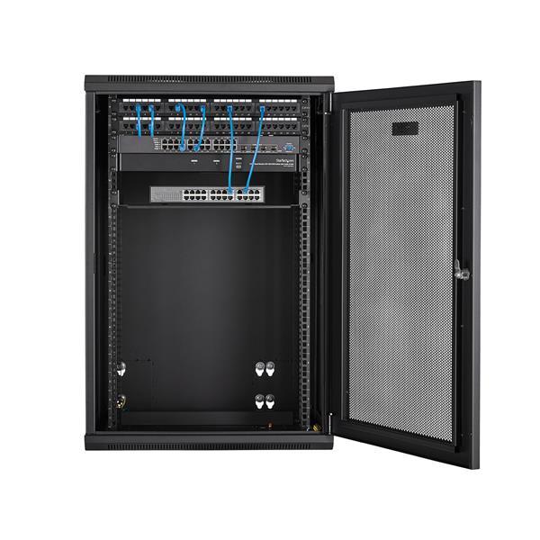 Wall Mount Bracket Hinged Network Rack Data Server Room 7 X 19 X 4 inch 4U NEW