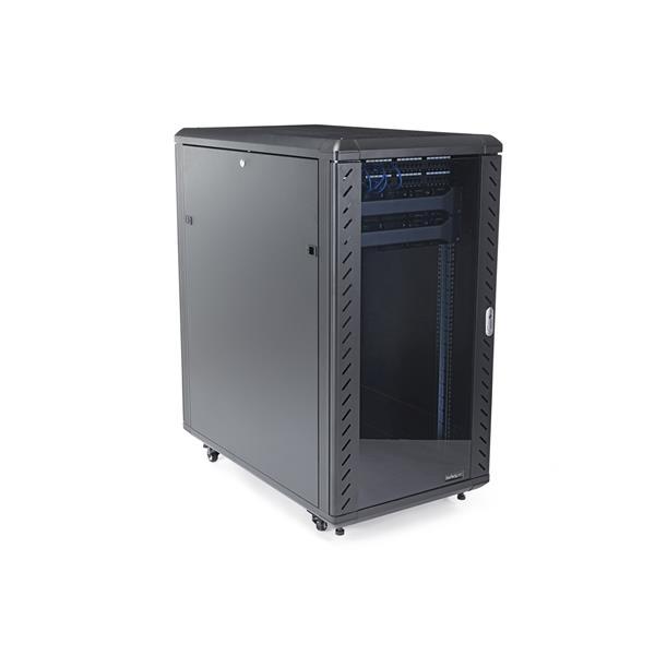 22U 36in Server Rack Cabinet with Glass Door | StarTech.com Australia