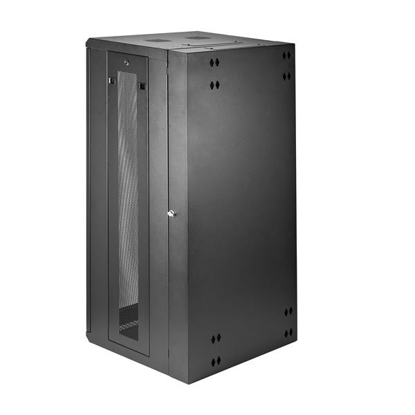 26U Wall-Mount Server Rack Cabinet - 20 in  Deep - Hinged