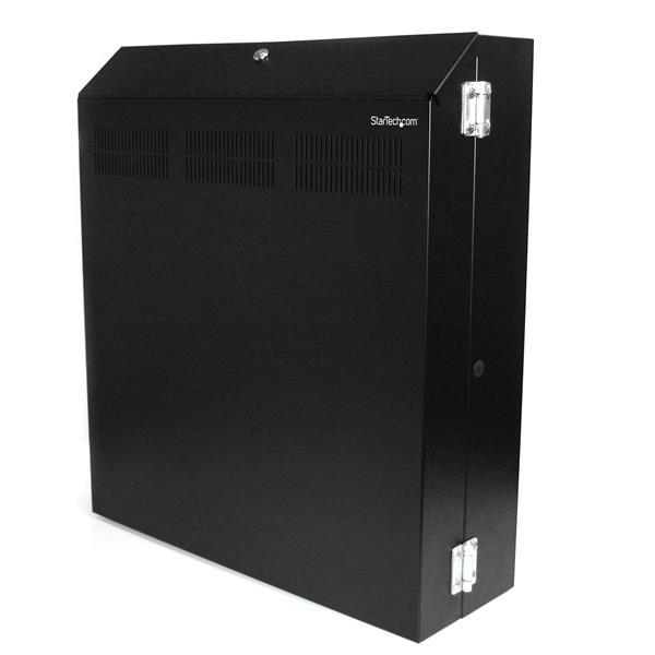 Server Rack - 4U 19in Secure Wall Mountable Server Rack   StarTech ...