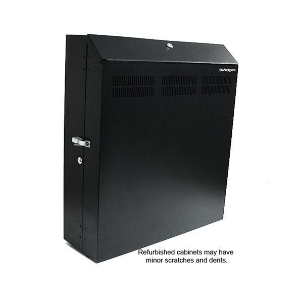 Server Rack - 4U 19in Secure Horizontal Wall Server Rack ...