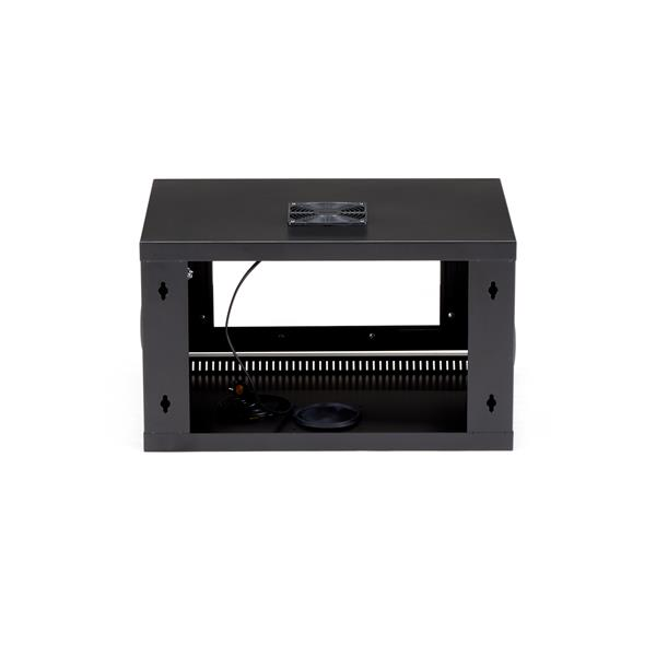 6u server rack - wall-mount | lockable | startech