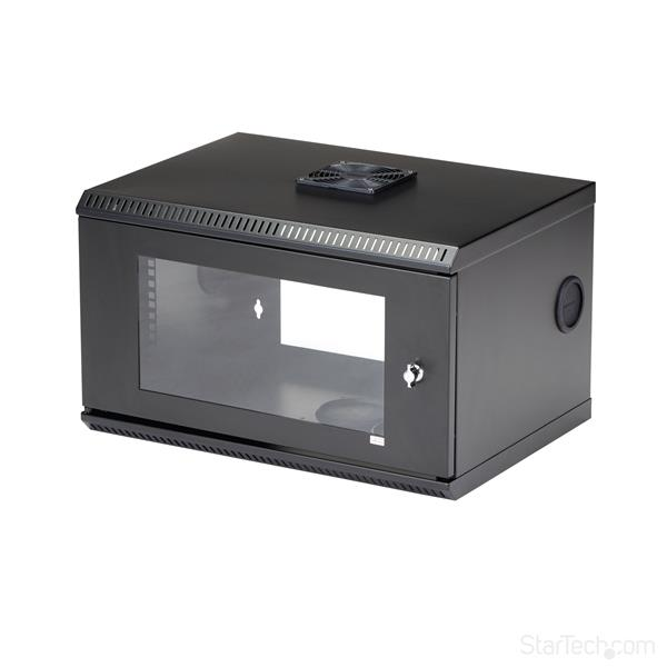 6U Server Rack - Wall-mount | Lockable | StarTech.com