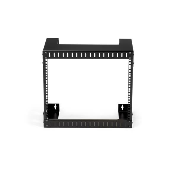 8u Open Frame Wall Mount Equipment Rack Wallmount Server