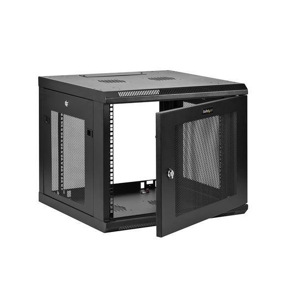 "FREE ACCESSORY 15U 24/"" Deep Wall Mount IT Network Server Rack Cabinet Enclosure"