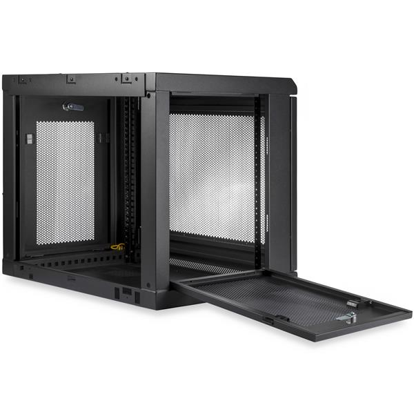 9u wall-mount rack - wall-mount server and network cabinet