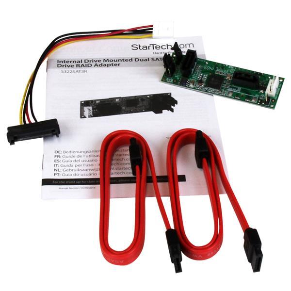Thumbnail 4 For SATA Dual Hard Drive RAID Adapter